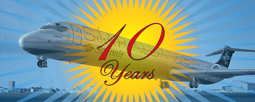 super 80 anniverary 10 years